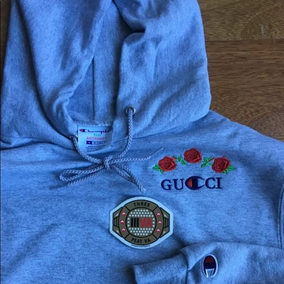 Ava Nirui Champion x Gucci Hoodie S M L XL 2c2ab58ee
